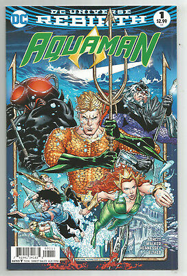 Aquaman # 1 * Dc Universe Rebirth * Near Mint