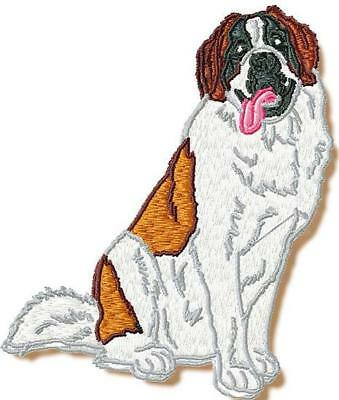 Realistic Saint Bernard 10 Machine Embroidery Designs Cd 2 Sizes