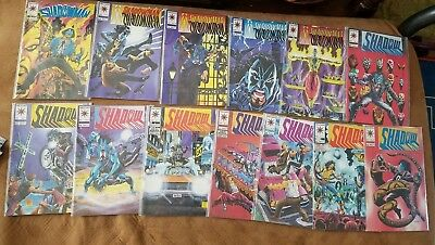 Lot of 13 Shadowman 9-20 Valiant Comic Book