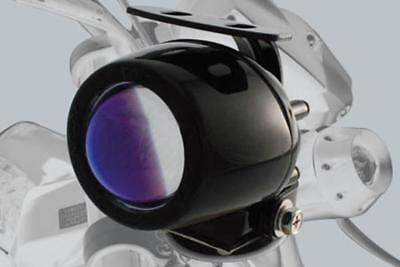 Moto Mini - ELLIPSOID - BROUILLARD ovale noir certification E