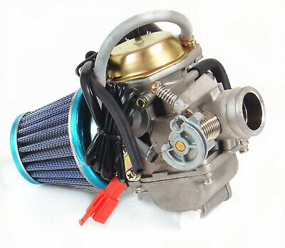 Carburetor & Air Filter Znen Lance BMS Jonway Vento Shenke Tank 150cc Scooter