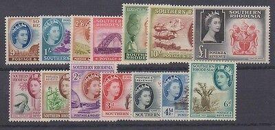 SOUTHERN RHODESIA 81-94 complete set to 1LB mint