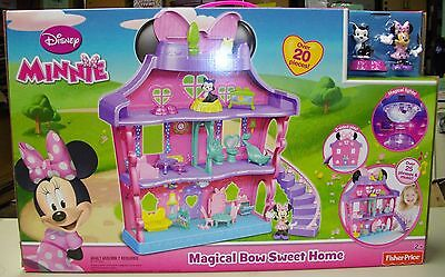 Disney Minnie's Magical Bow Sweet Home - New - 2014 Version - Minnie Bow-Tique
