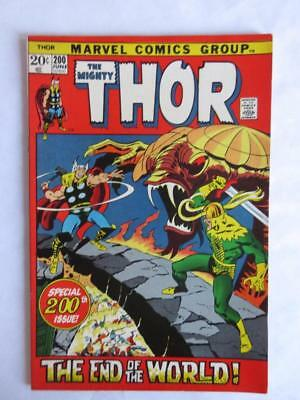 Thor # 200 - NEAR MINT 9.0 NM - Avengers IronMan MARVEL Check out our Comics