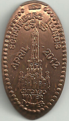 Chicago Water Tower Elongated Penny