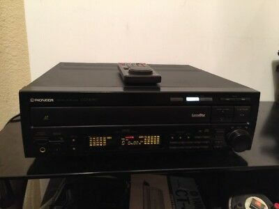"""Pioneer Cld-2090 Double Sided Laser Disc Player """"has Remote"""" & Manual"""
