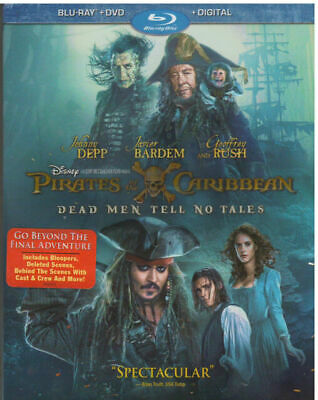 Pirates Of The Caribbean: Dead Men Tell Blu-ray