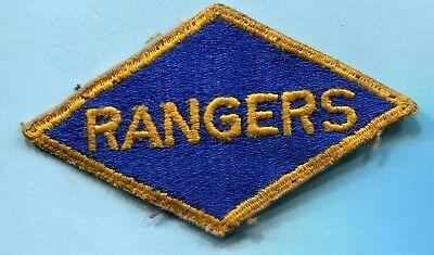 Wwii Shoulder Patch Us Army Rangers