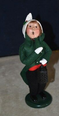 Desirable Byers Choice The Carolers – Young Boy Holding Lantern Figure -Limited