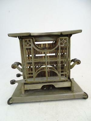 Antique Electric Exposed Element Toaster Universal 1922 Vintage Flipping Retro