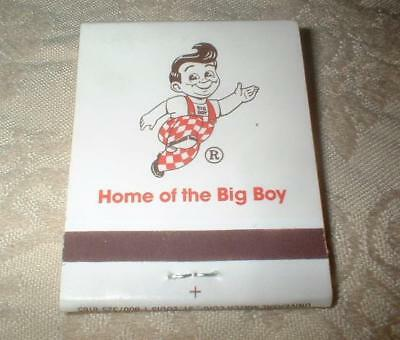 Vintage Matchbook Elias Brothers Home Of The Big Boy ~ Quality Foods Since 1938