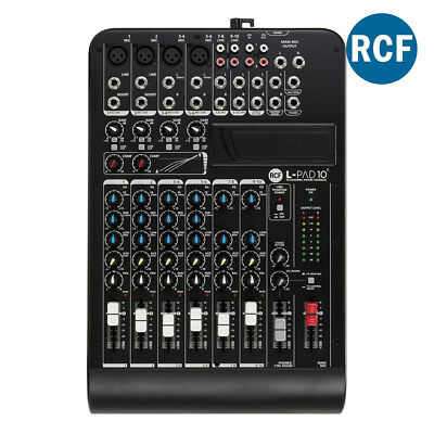 RCF LPAD10C 10 Channel Mixing Console MMA0585