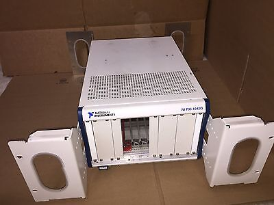 """National Instruments NI PXI-1042Q, PXI Mainframe Quieter 19"""" Brackets Working"""
