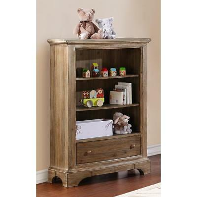 New Bertini Pembrooke Bookcase - Natural Rustic Model:9092704E