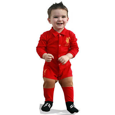 Liverpool FC Infant Footysuit Sizes 000 - 0