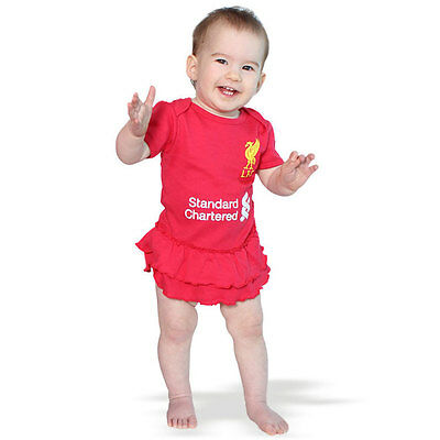 Liverpool FC Girls Footysuit Sizes 000 - 1