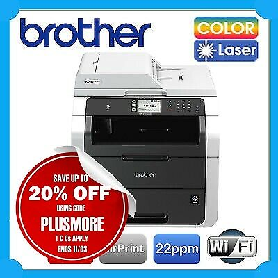 Brother MFC-9335CDW Wi-Fi Color Laser MFP Printer+NFC+AirPrint RRP$529 *Damaged*