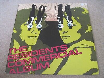 THE RESIDENTS Commercial Album GOLD STAMP PROMO    PRE   RECORDS  Superb EX++