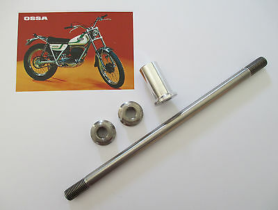 OSSA Titanium Rear Axle Kit for MAR Explorer & TR77 350 & 250 1971 to 1979