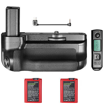 Neewer Pro Camera Battery Grip for Sony A6500 Mirrorless Camera+2 pack battery