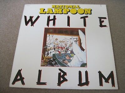 NATIONAL LAMPOON WHITE ALBUM  Various Artists l USA1980  near mint