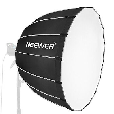 "Neewer 35"" Photo Studio Dodecagon Softbox Diffuser with Grey Rim and Bowens"
