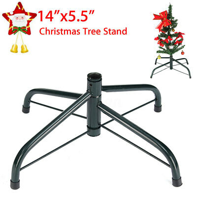 6FT Christmas Tree Stand Cast Iron Metal Mount Holder Base Home Garden Decor