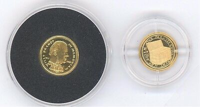 ♦  LIBERIA GOLD-Münze 20 Dollars Willy Brandt 1/25 oz ♦ EUROPA Schatzkästchen