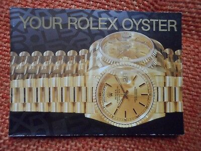 Libretto Your Rolex Oyster 2-1999 - Booklet Your Rolex Oyster 2-1999