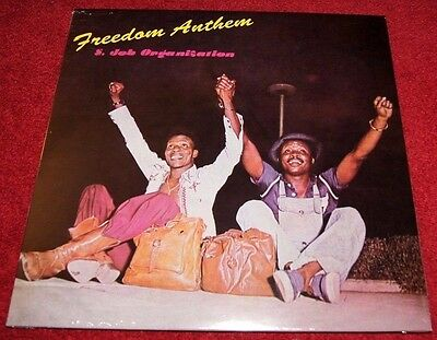 S. JOB ORGANISATION Freedom Anthem PMG LP NEW! Afrobeat, Dub, Funk, Psychedelic