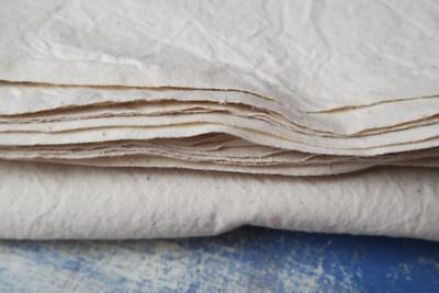 French sheet unused cream cotton sheet perfect fabulous upholstery textile