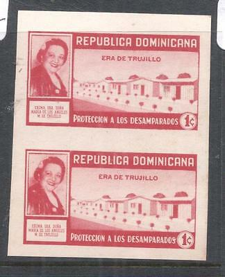 Dominican Republic SC RA31 Imperf Pair MNH (6dna)