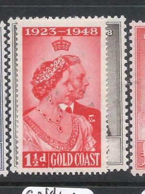 Gold Coast Silver Wedding SG 147-8 MOG (11dlk)
