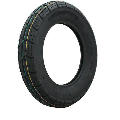 """Yuanxing 10"""" Scooter Tyre 3.50-10 50J Yellow Green P58 Replacement Moped 10 Inch"""