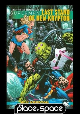 Superman Last Stand Of New Krypton Vol 02 - Softcover