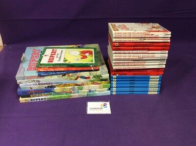 Small Job Lot of Rupert Books and Annuals