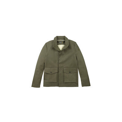 9014900f18a LYLE   SCOTT Shearling Lined Hooded Parka Coat Dark Sage - £99.00 ...