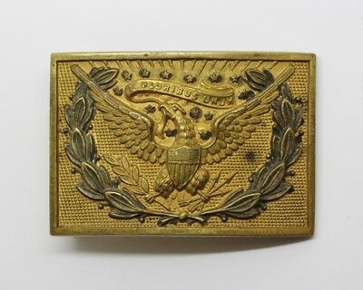19th Century American Indian Wars US Military Officer's Belt Plate #23