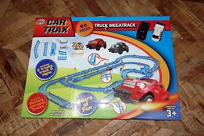 Hgl Car Trax Truck Megatrack Mega Track Set! Brand New, Unused! 64 Pieces
