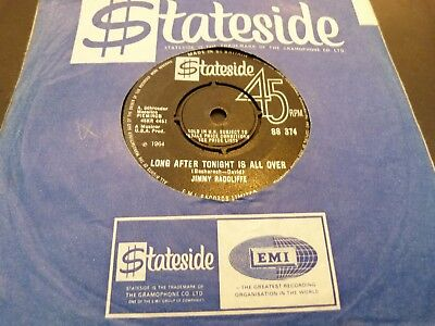 "Jimmy Radcliffe : Long After Tonight Is All Over::rare Uk 1St 7"":northern Soul:"