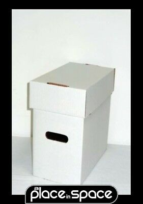 1 X Short Comic Storage Box (Comicare) - Holds 200 Comics (Supply124)
