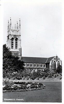 Postcard- View of Stapenhill Church, Burton-on-Trent, Staffordshire. Posted 1964