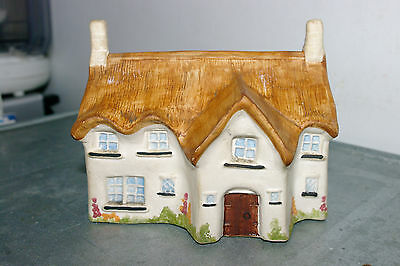 Rare BABBACOMBE POTTERY Large COTTAGE MONEY BOX * Excellent Condition *