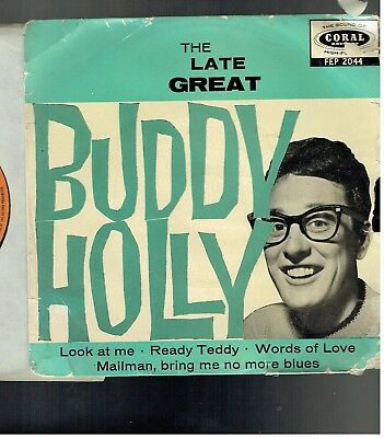 Buddy Holly The Late Great Buddy Holly Ep Coral Fep 2044