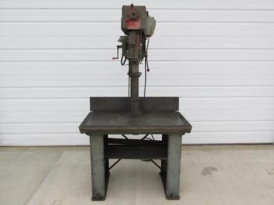 """Powermatic Model 1200 Variable Speed Drill Press 40"""" x 24"""" Table 1 HP 3 Phase"""
