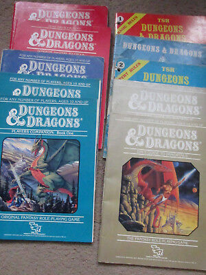 Tsr D&d Basic Expert Companion Immortals Rule Books 10   Dungeon Dragon