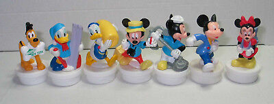7 seltene Nestle Smarties Toppers Topper Duty Free Mickey Pluto, Donald Minnie..