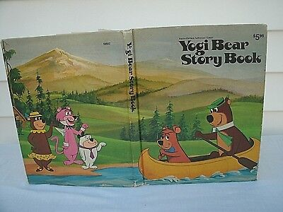 1974 YOGI BEAR STORY BOOK-- Hardcover Edition