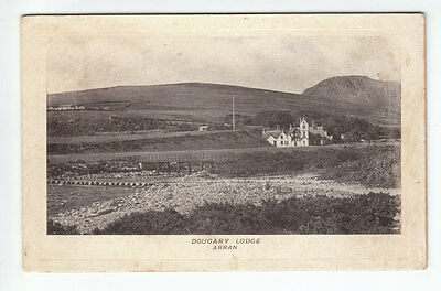 Dougary Dougarie Lodge Bridge & Stepping Stones Isle Of Arran Pre 1918 Albany
