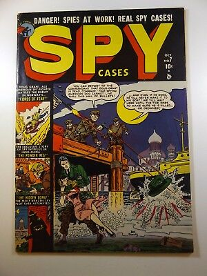 Spy Cases #7 from Hercules Publishing '51 Awesome Stories!! Solid VG Condition!!